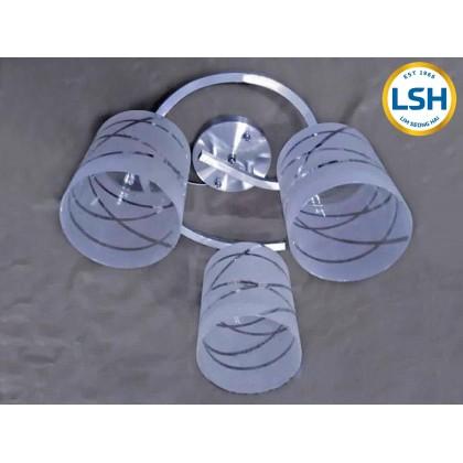 Lim Seong Hai Lighting Classic Decorative 3 Head Ceiling Light IM-C21645