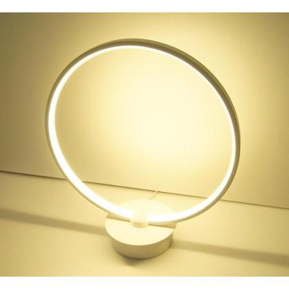 Lim Seong Hai Lighting Stylish Fashionable Circle LED Table Lamp IM-T22648WT (NETT PRICE)